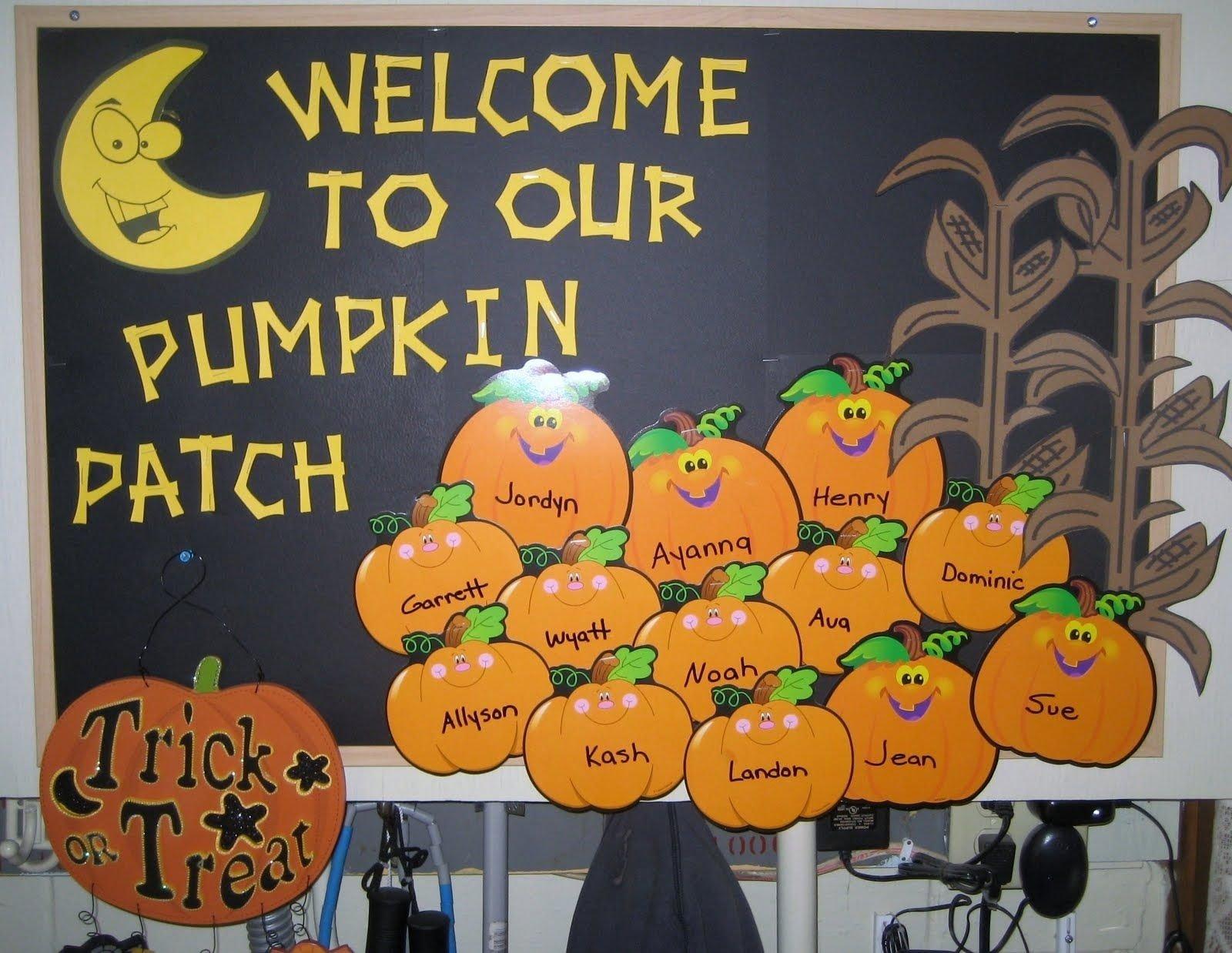 10 Fantastic Fall Halloween Bulletin Board Ideas 1 2 3 learn curriculum october bulletin board idea bulletin 1 2020