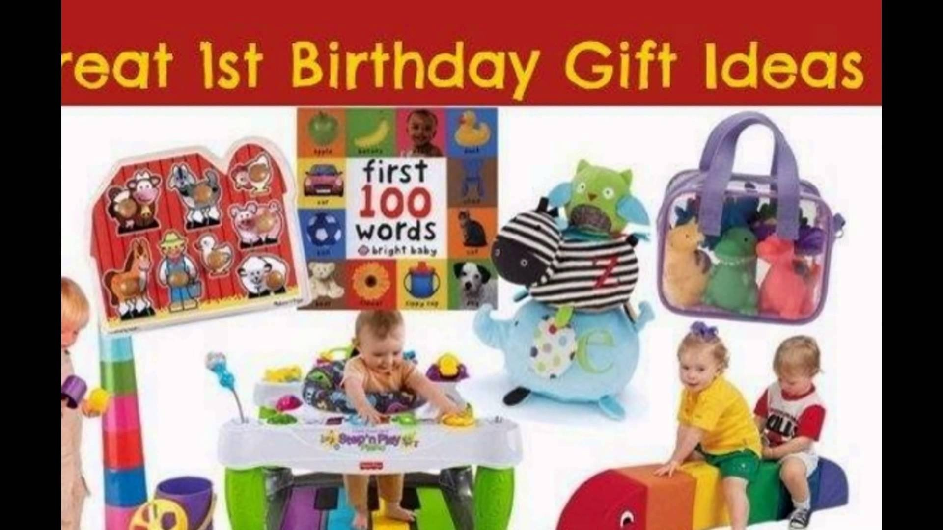 10 Perfect 1 Year Old Gift Ideas 1 year old birthday gifts ideas youtube 1 2020