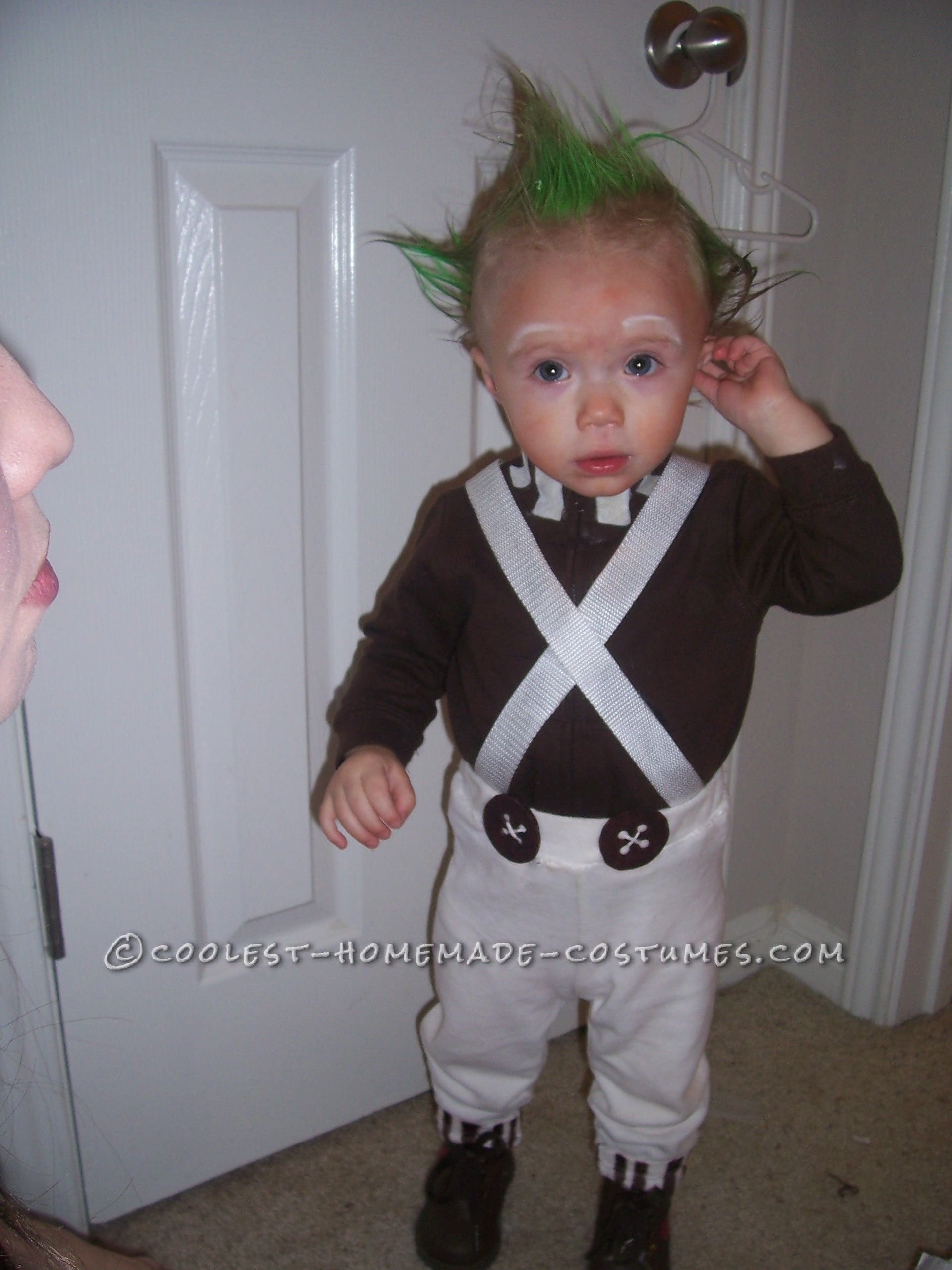 10 Amazing One Year Old Halloween Costume Ideas 1 year old easy oompa loompa costume oompa loompa costume