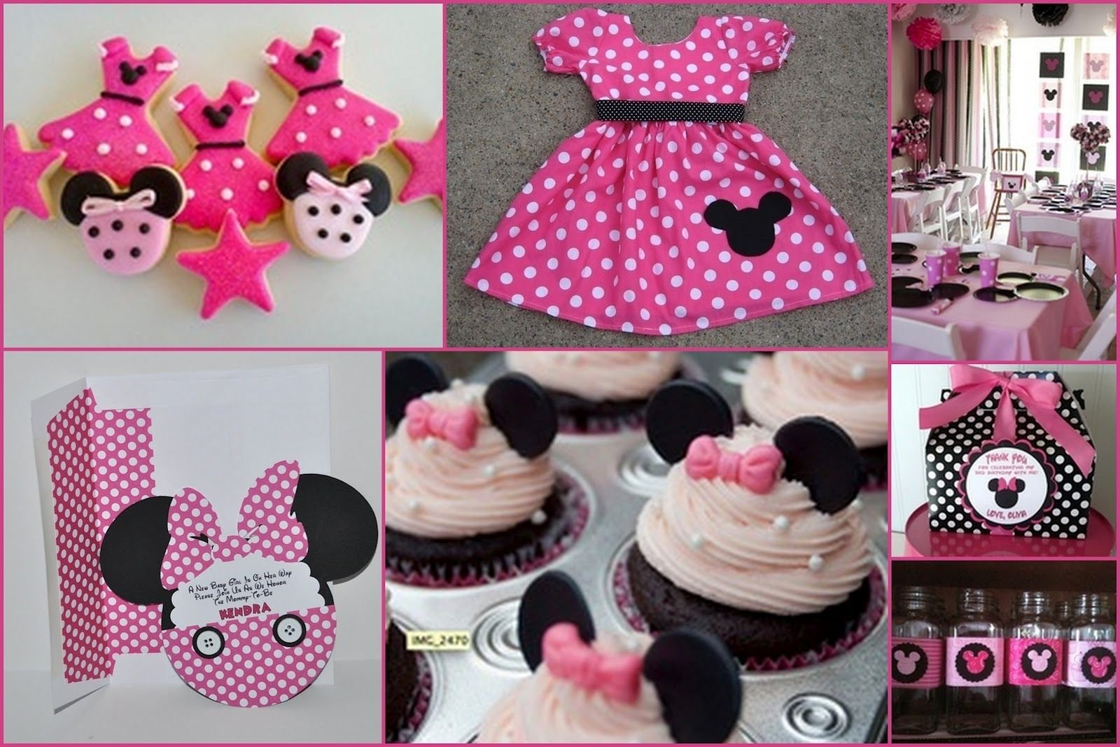 10 Ideal Minnie Mouse Party Ideas Pinterest 1 yr birthday outfits for girls loving these cookies and it would