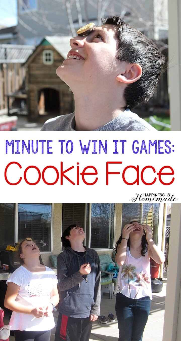 10 Pretty Minute To Win It Ideas For Kids 10 awesome minute to win it party games happiness is homemade 1 2020