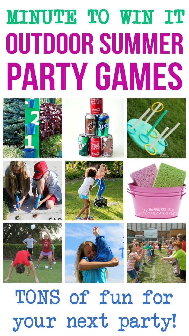 10 Attractive Minute To Win It Party Ideas 10 awesome minute to win it party games happiness is homemade 2 2020