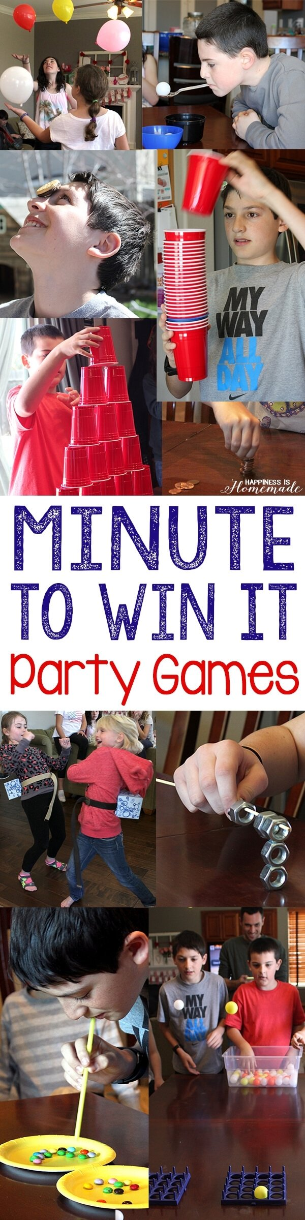 10 Attractive Minute To Win It Party Ideas 10 awesome minute to win it party games happiness is homemade 3 2020