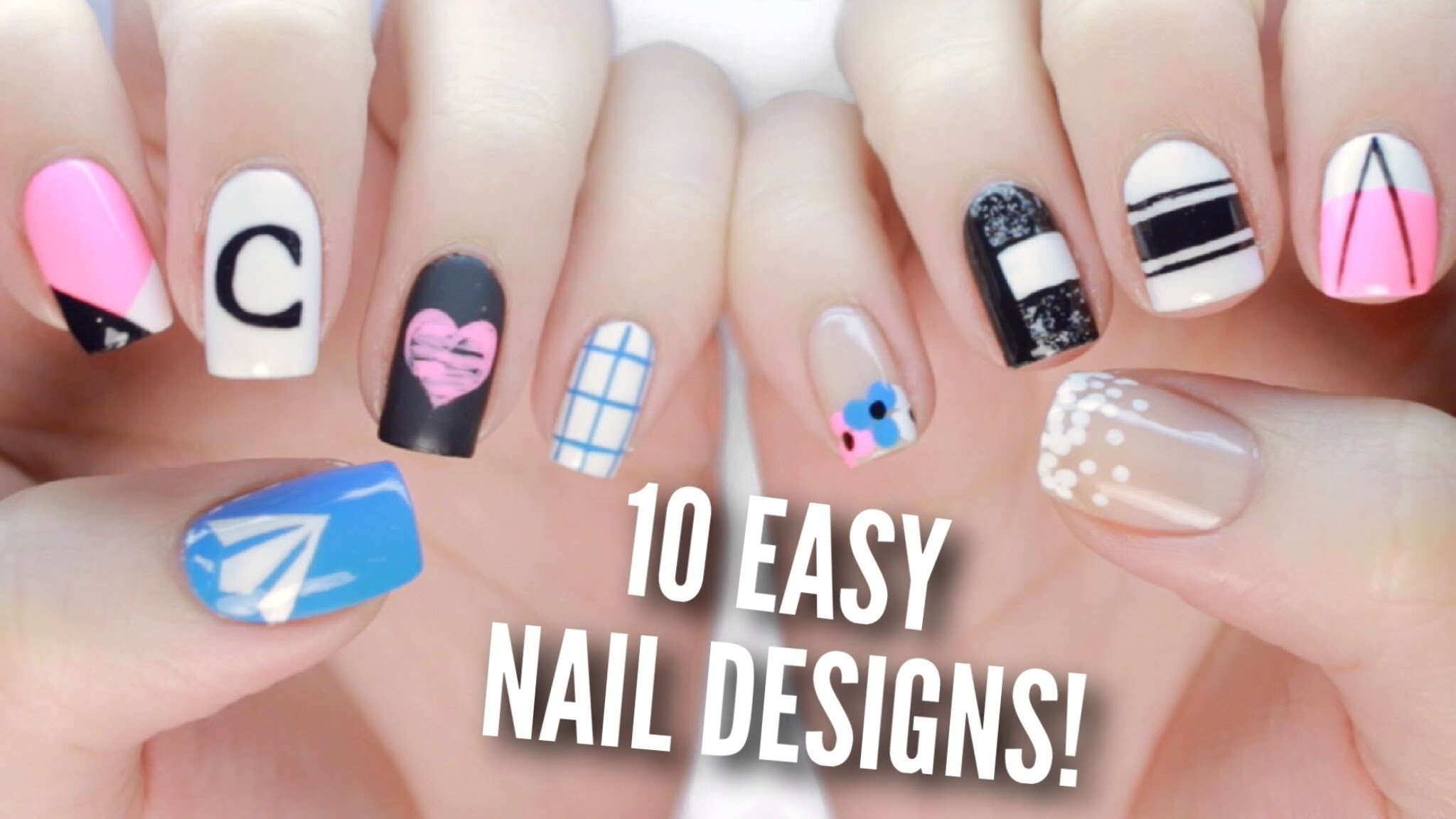 10 Fabulous Back To School Nail Ideas 10 back to school nail art designs the ultimate guide 2 youtube 2020