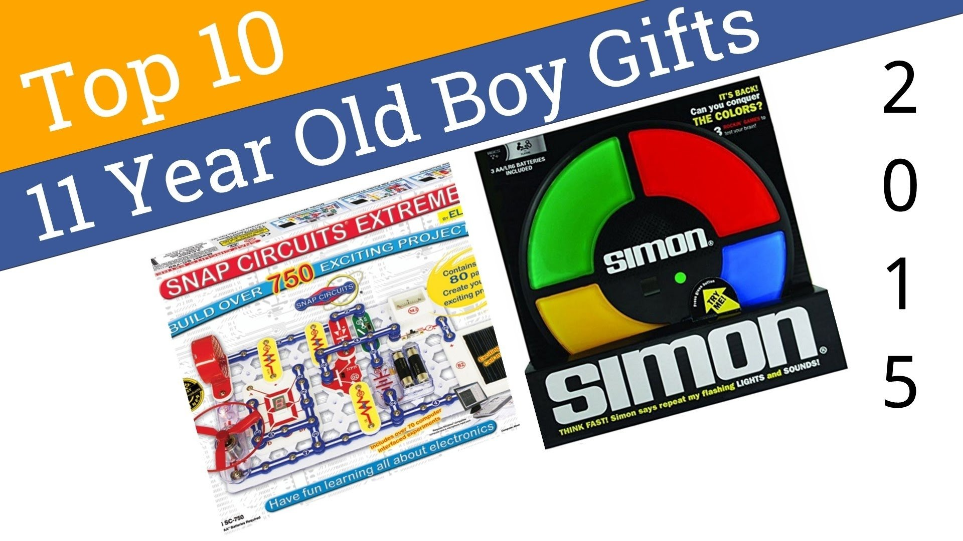 10 Fashionable 11 Year Old Boy Gift Ideas 10 best 11 year old boy gifts 2015 youtube 5 2020