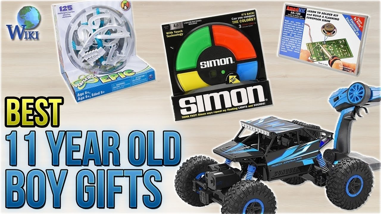 10 Lovable Gift Ideas For 11 Year Old Boy 10 best 11 year old boy gifts 2018 youtube