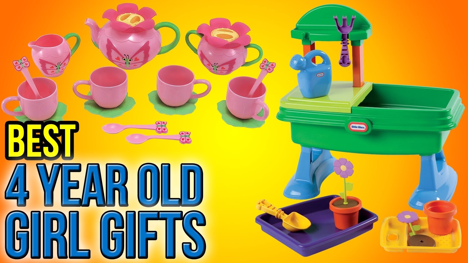 10 best 4 year old girl gifts 2016 - youtube