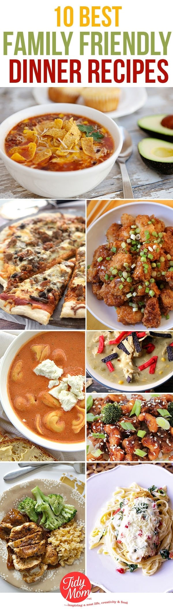 10 Unique Dinner Party Menu Ideas For 10 10 best family dinner recipes tidymom 2020