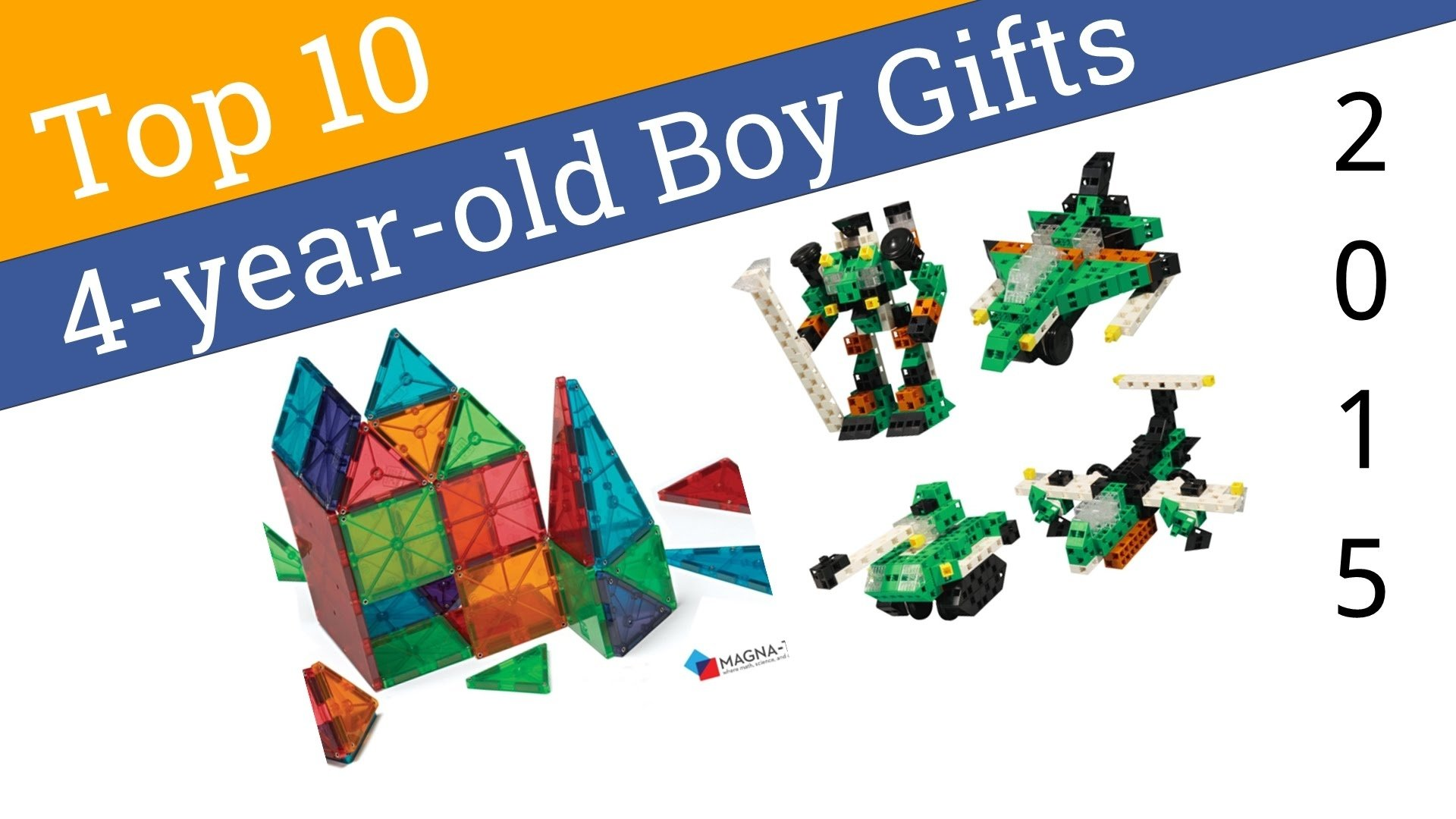 10 best gifts for 4-year old boys 2015 - youtube