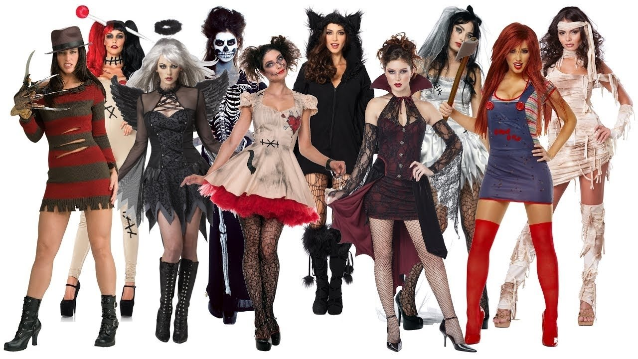 10 best scary halloween costume ideas for women - youtube