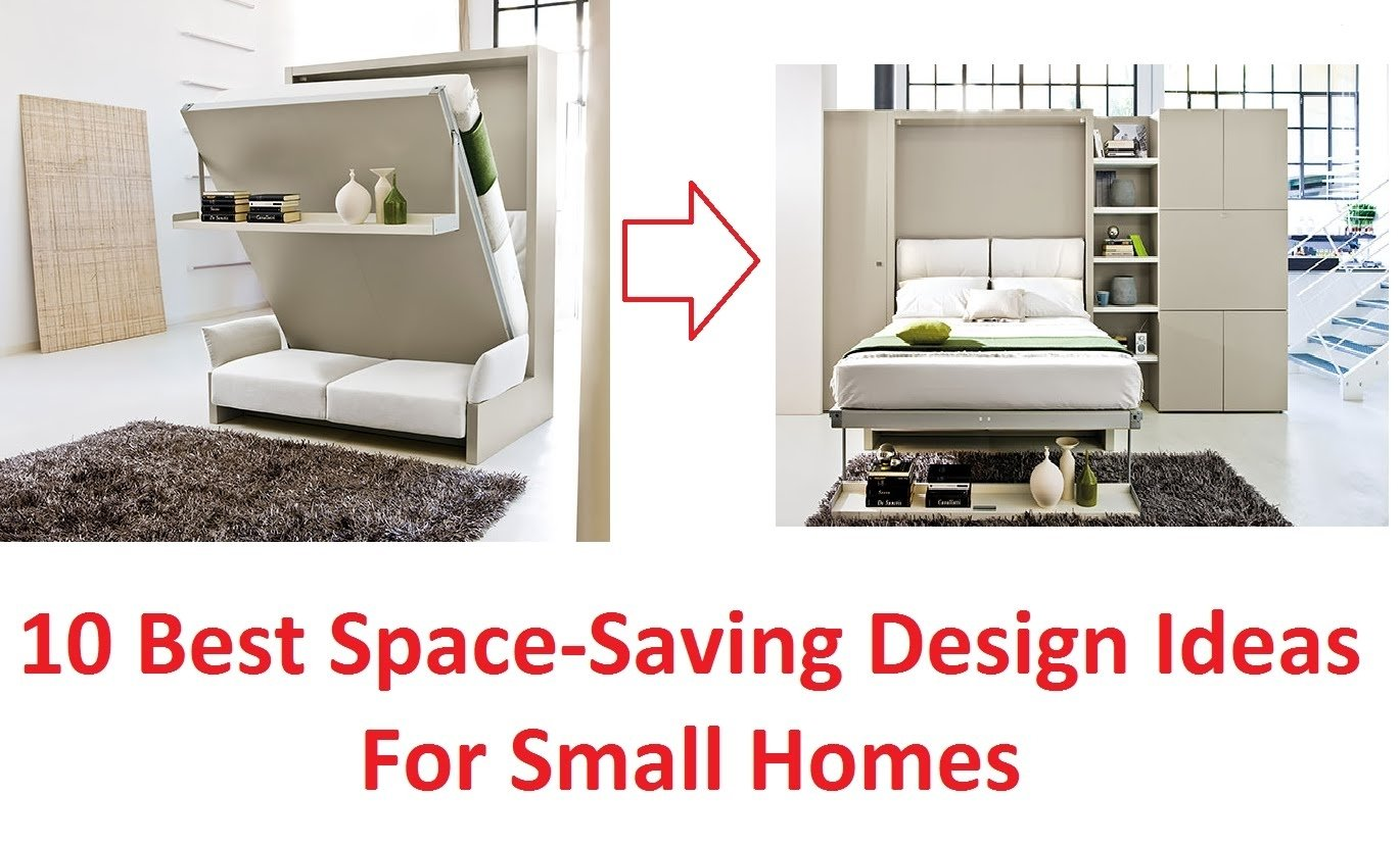 10 best space saving design ideas for small homes - youtube