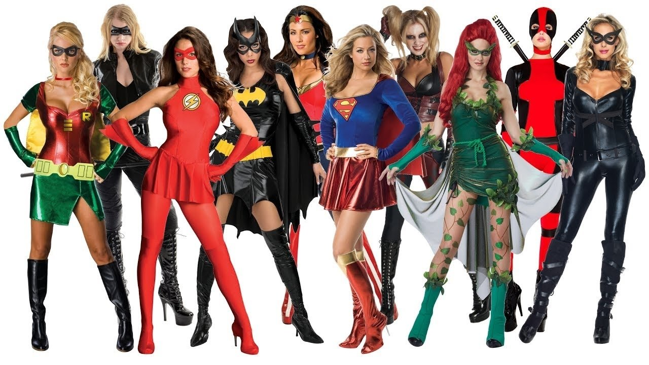 10 Stylish Superhero Costume Ideas For Women 10 best superhero halloween costume ideas for women youtube 2020