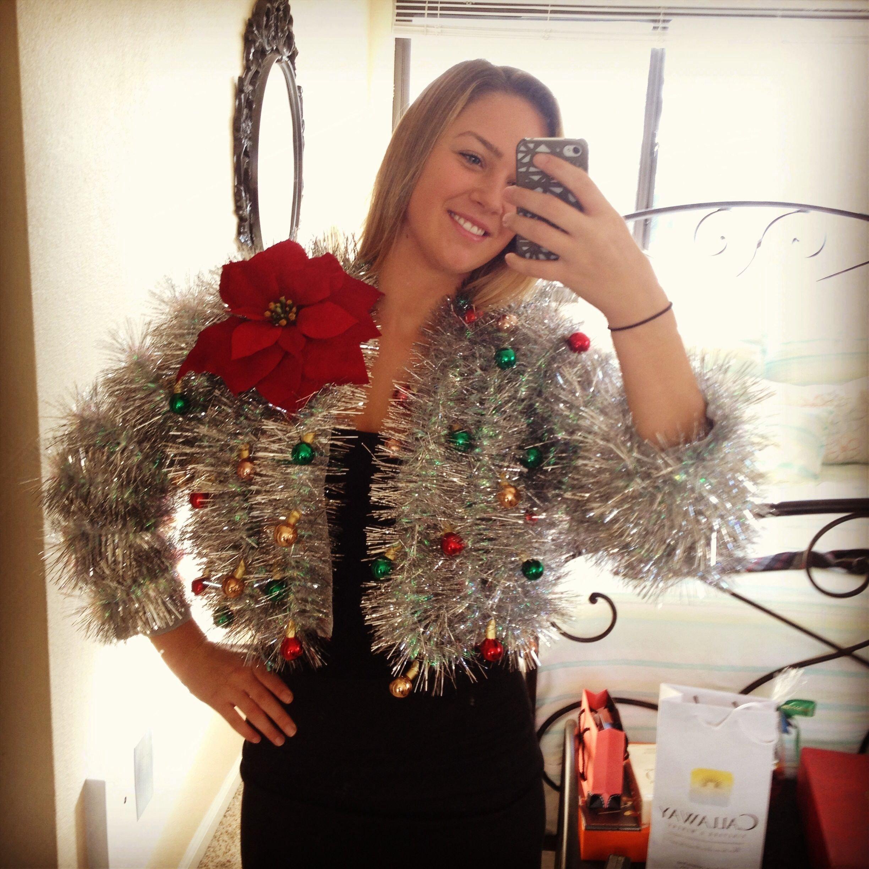 10 Stylish Ugly Christmas Sweaters Ideas Homemade 10 best ugly christmas sweater diys garlands ugliest christmas 1 2021