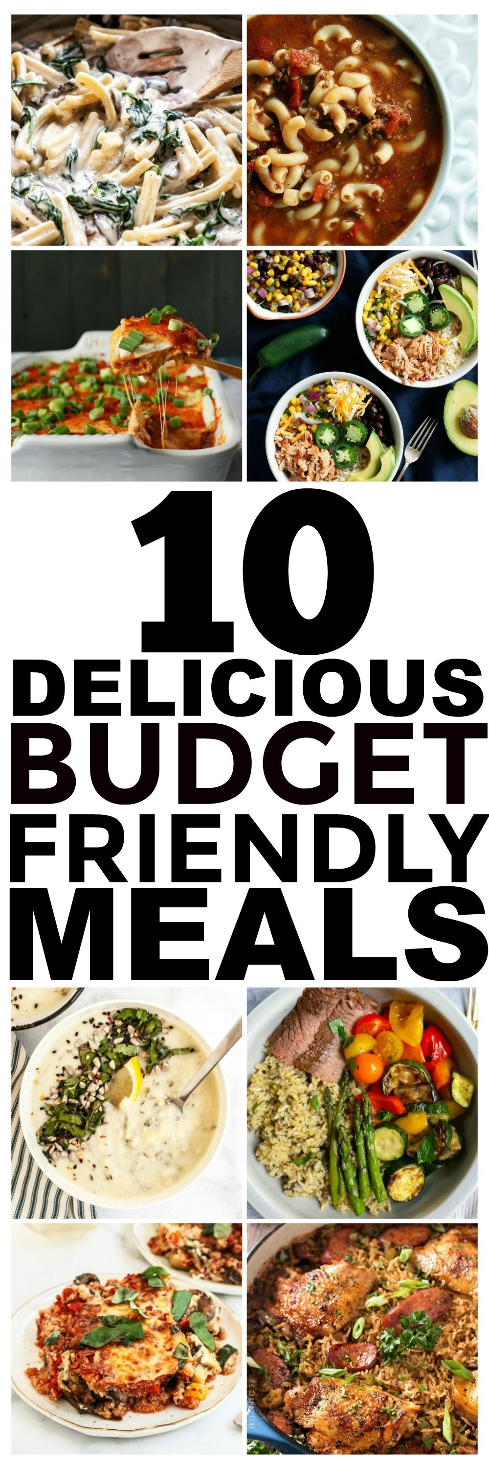 10 Fabulous Dinner Ideas On A Budget 10 budget recipes and cheap easy meals you should try 2021