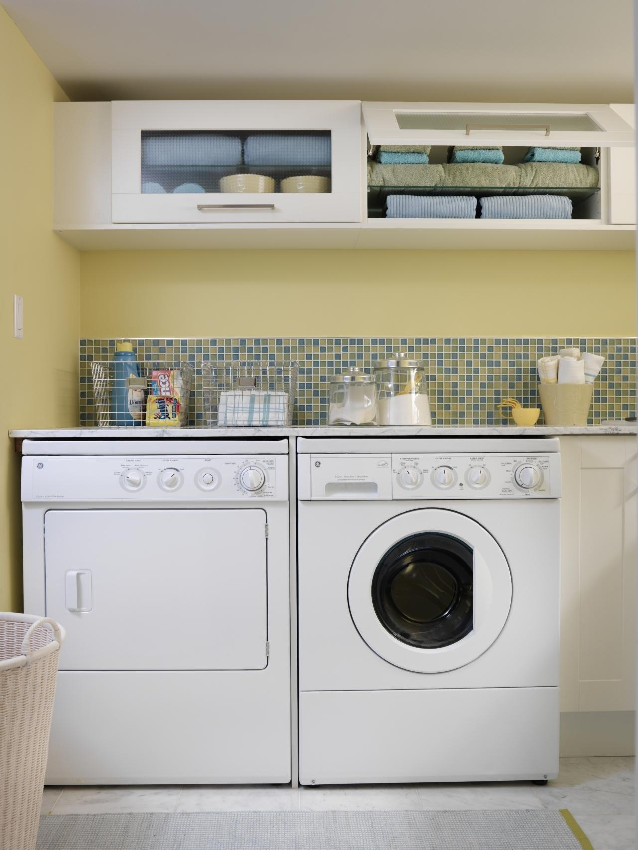 10 clever storage ideas for your tiny laundry room | hgtv's
