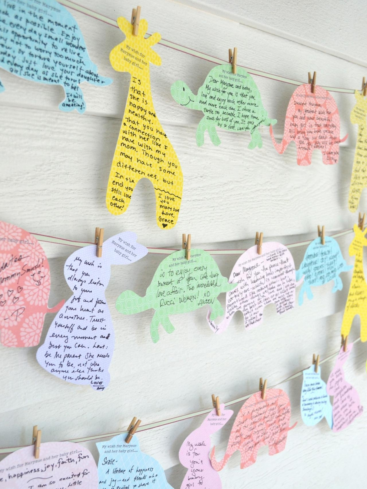 10 Pretty Ideas For A Baby Shower %name