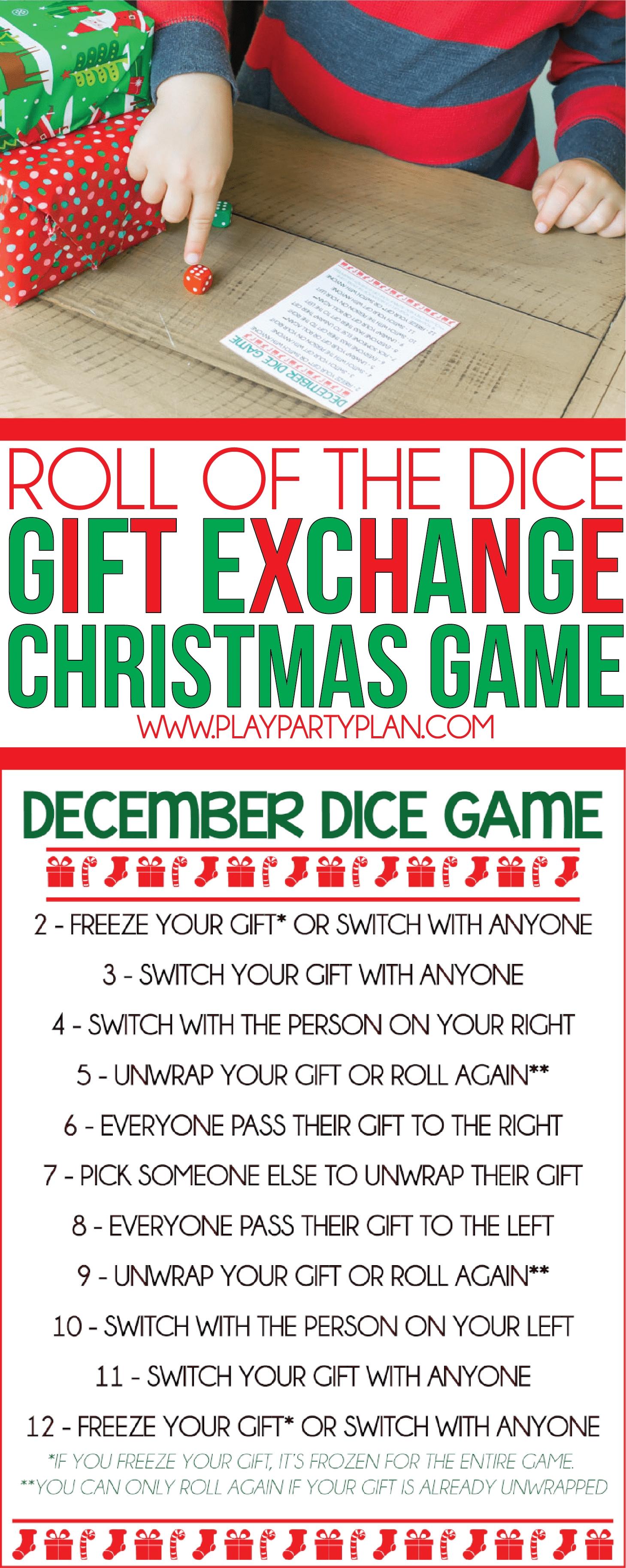 10 Amazing Christmas Gift Exchange Game Ideas