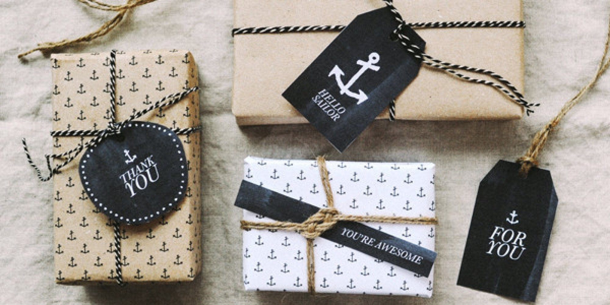 10 Stylish Gift Wrapping Ideas For Him 10 creative gift wrap ideas that look more complicated than they are 2020
