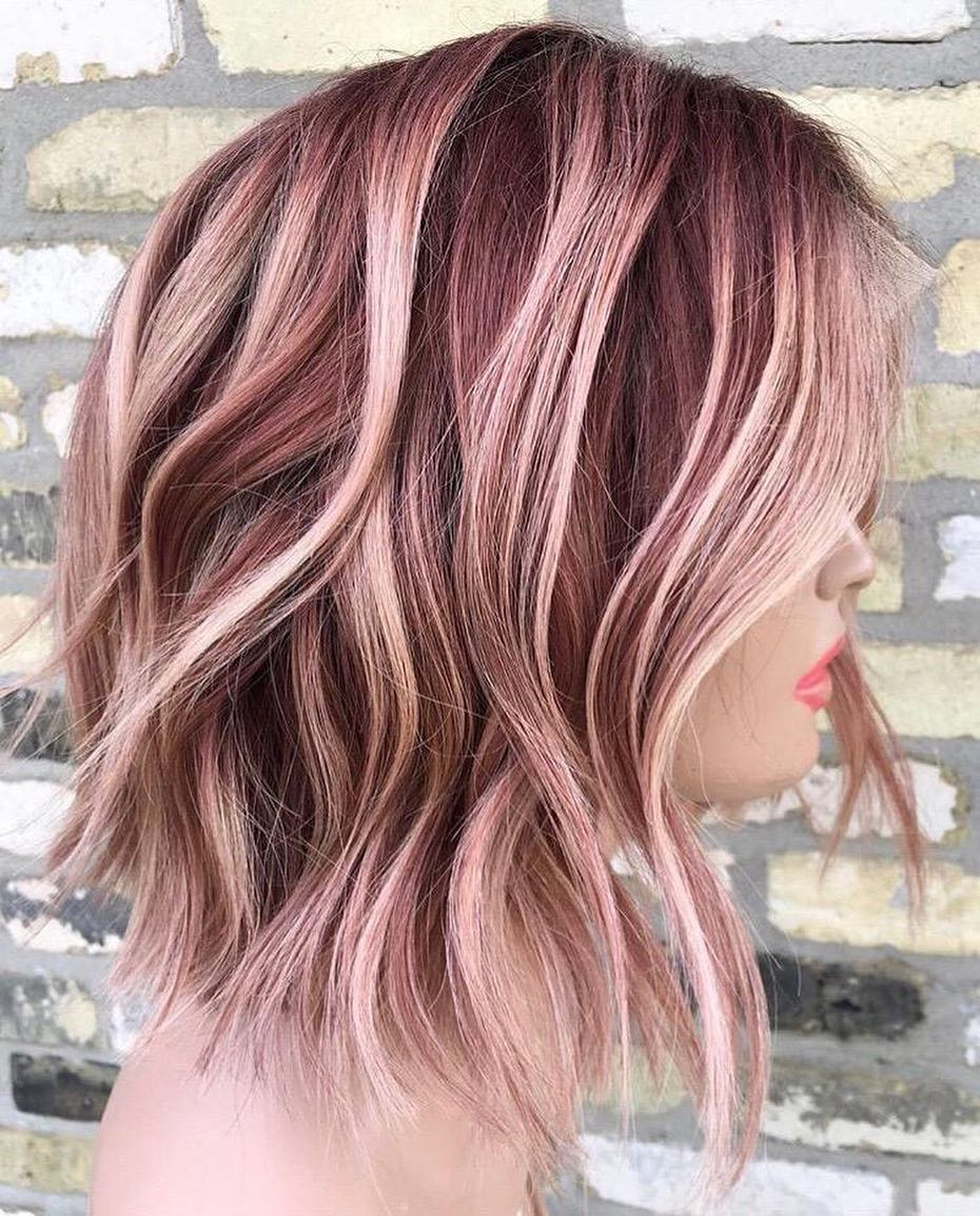 10 Awesome Long Haircut And Color Ideas 10 creative hair color ideas for medium length hair medium haircut 2019 2020