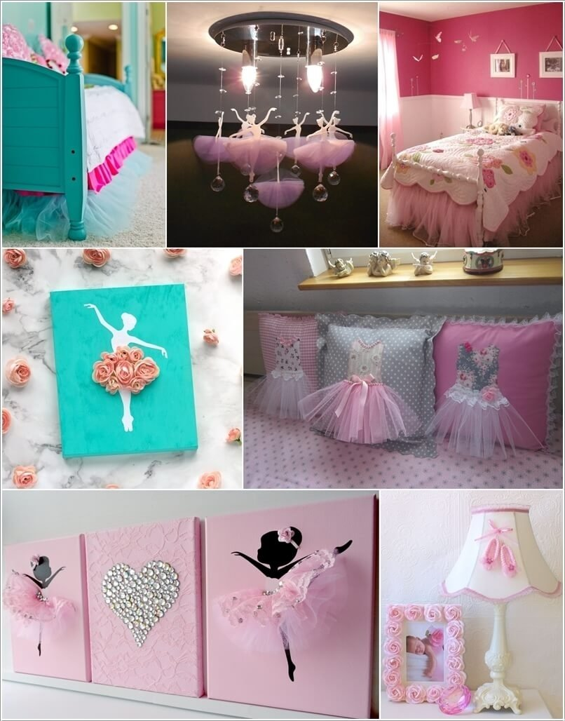 10 Perfect Little Girls Room Decor Ideas 10 cute ballerina girls room decor ideas 1 2020