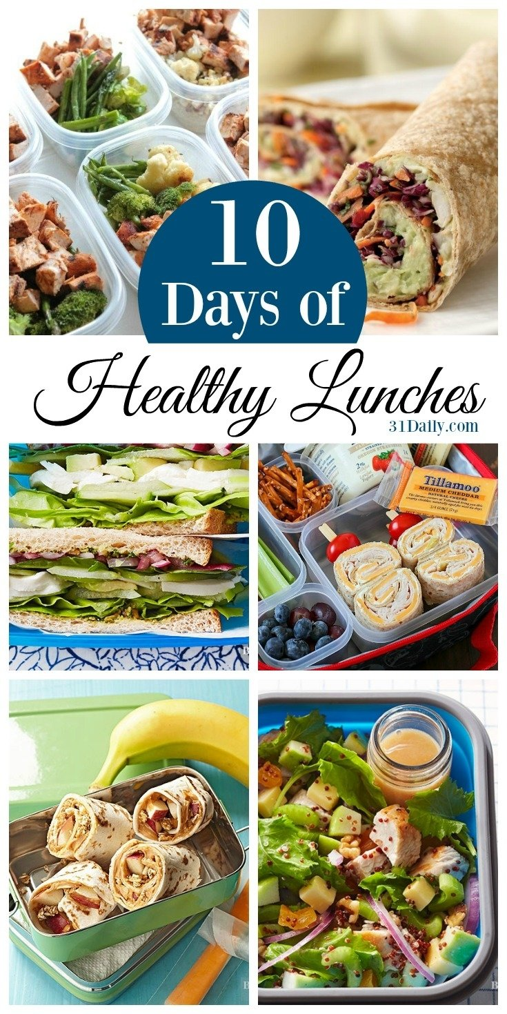 10 Cute Good Lunch Ideas For Work 10 days of healthy lunch ideas for work and school 31 daily 2020
