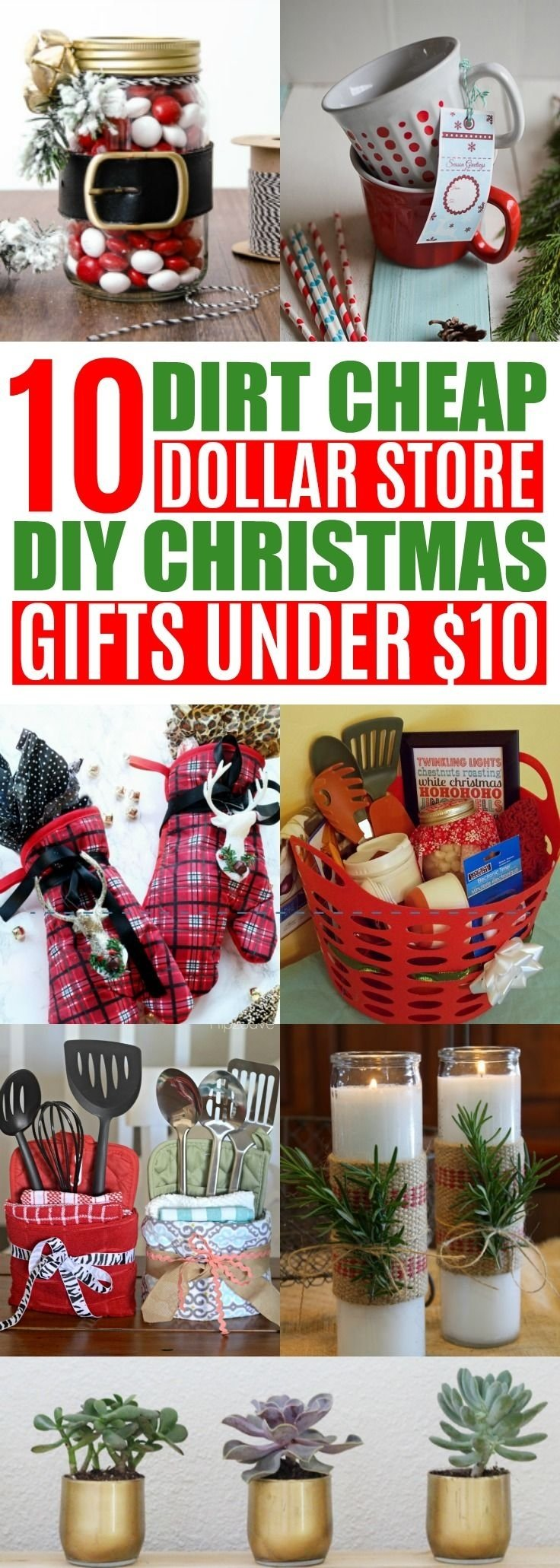 10 Stylish Christmas Gift Ideas On A Budget 10 diy cheap christmas gift ideas from the dollar store under 10 1