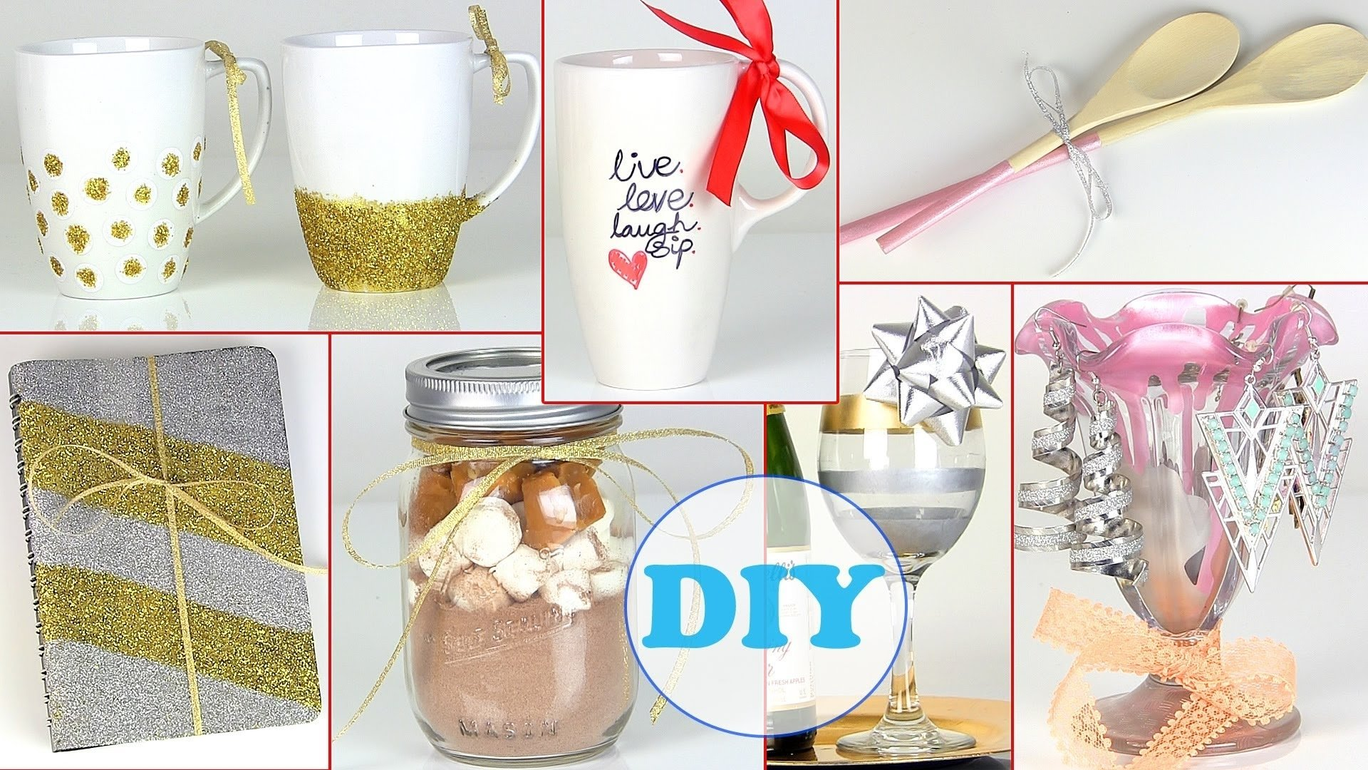 10 Amazing Last Minute Gift Ideas For Her 10 diy gift ideas last minute diy holiday gift ideas youtube