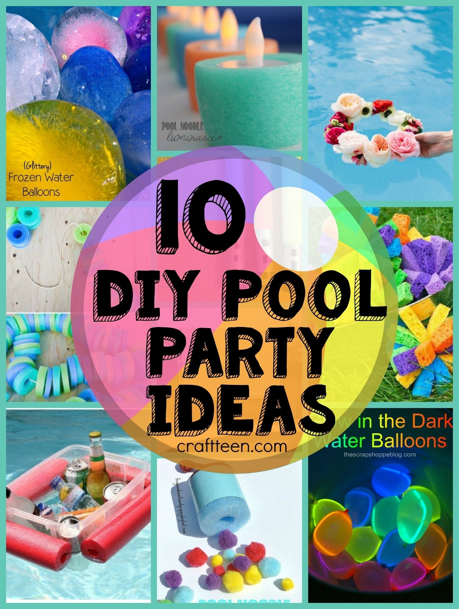 10 Great Ideas For A Pool Party 10 diy ideas for a pool party craft teen 2020