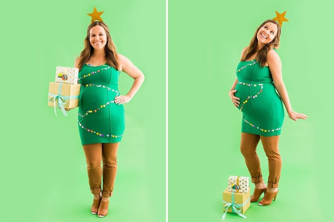 10 Wonderful Costume Ideas For Pregnant Women 10 diy maternity halloween costume ideas for pregnant women 1 2021