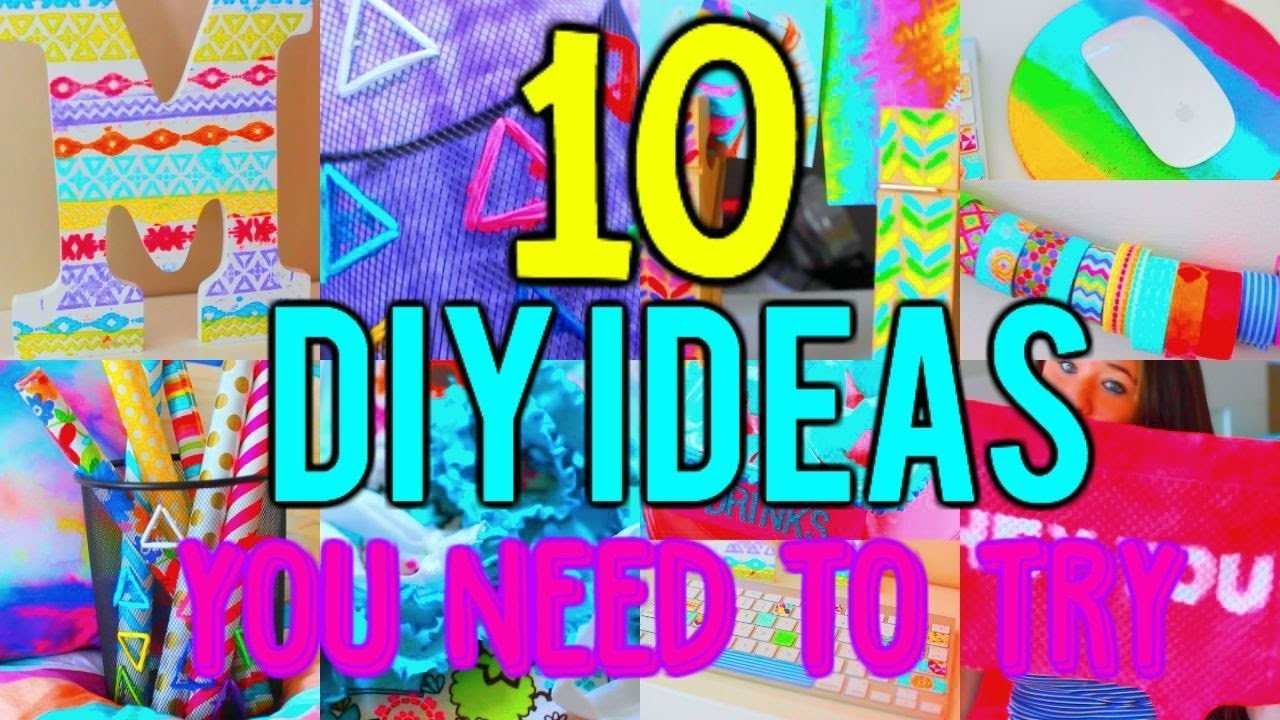 10 Most Popular High School English Project Ideas 10 diy project ideas you need to try youtube 2021