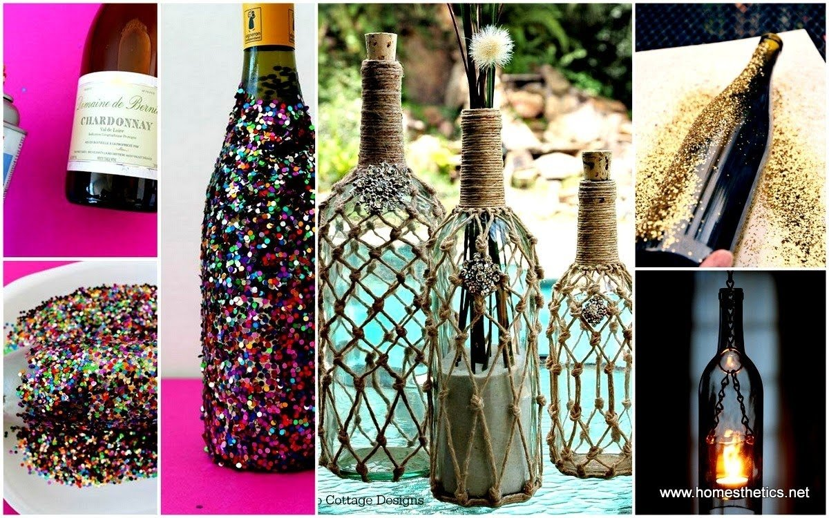 10 diy wine bottle projects and ideas - youtube