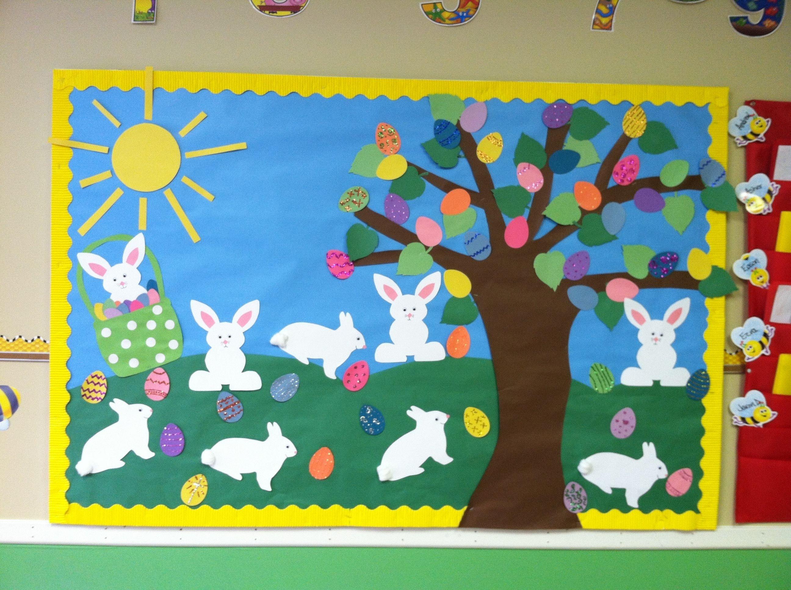 10 Trendy Spring Preschool Bulletin Board Ideas 10 easter bulletin board ideas bulletin board board and spring 2020