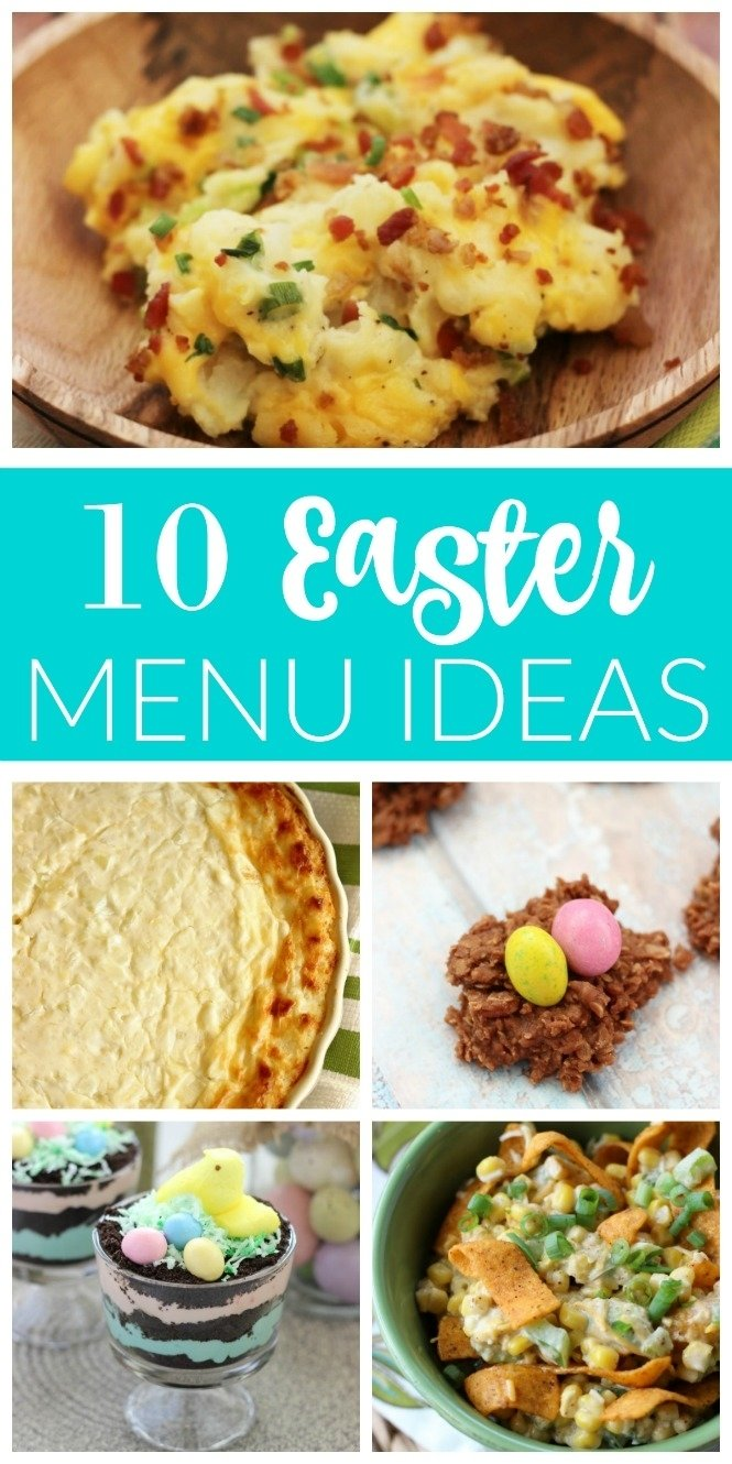 10 Wonderful Easy Easter Dinner Menu Ideas 10 easter menu ideas diary of a recipe collector 2020