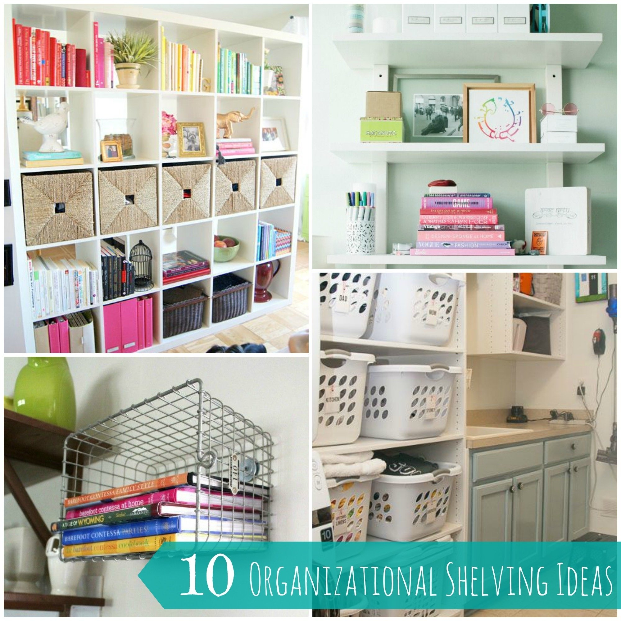 10 Most Popular Home Organization Tips And Ideas 10 easy and creative shelving organization ideas for your home 2020