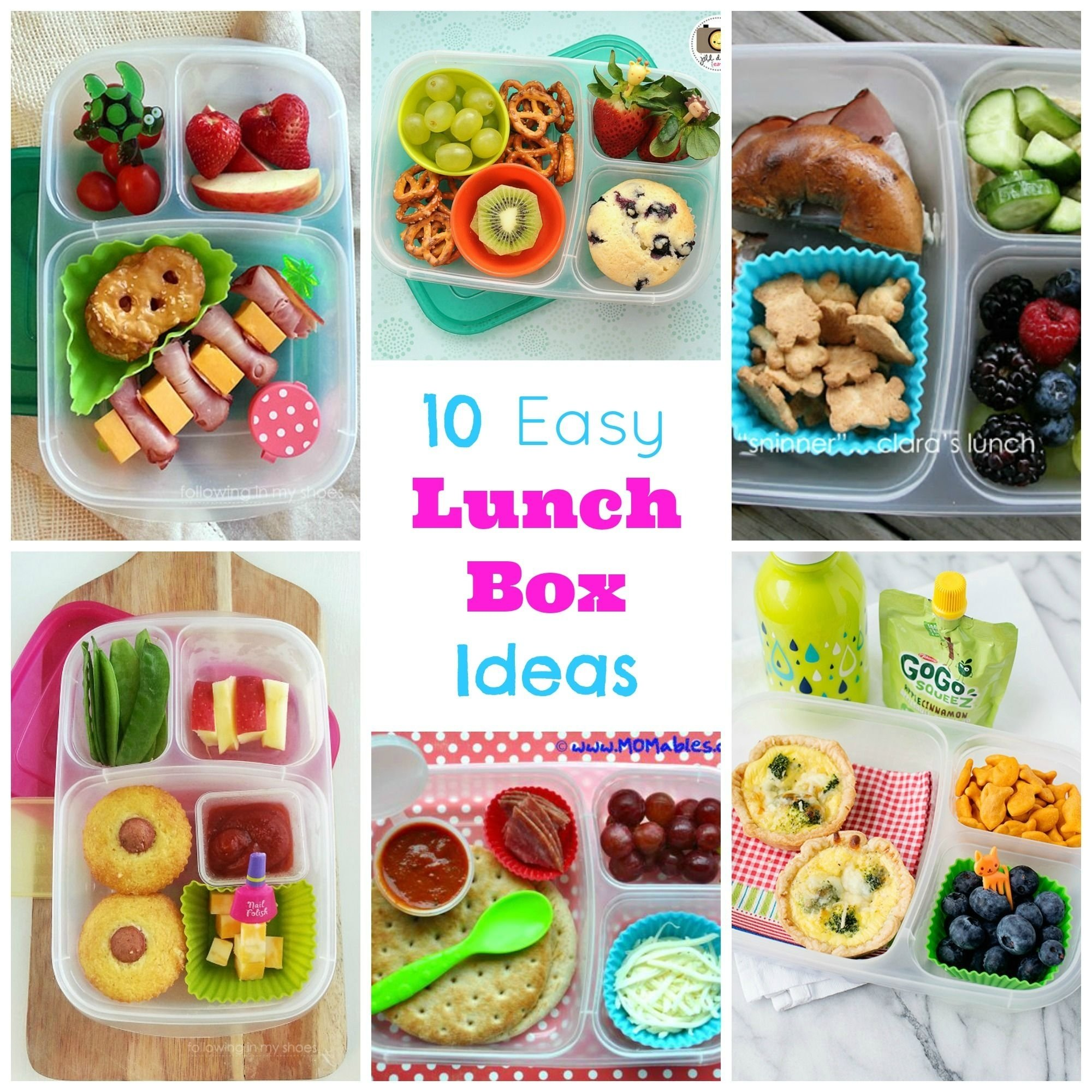 10 Cute Lunch Box Ideas For Picky Eaters 10 easy lunch box ideas lunchbox ideas picky eaters and lunches 1