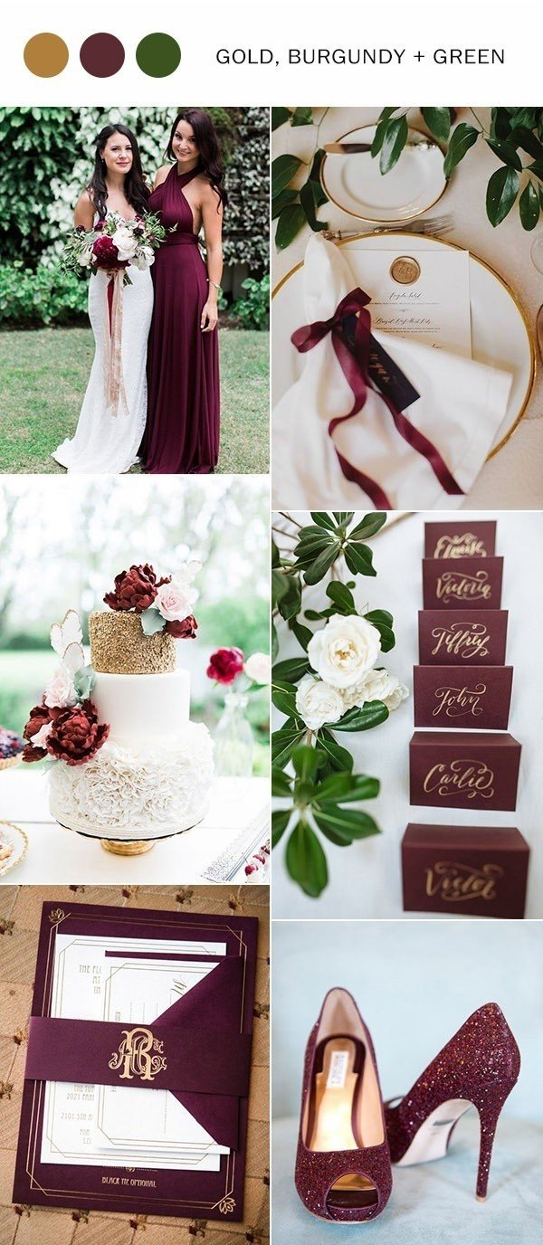 10 Amazing Wedding Color Ideas For Fall 10 fall wedding color ideas youll love for 2017 oh best day ever 2020