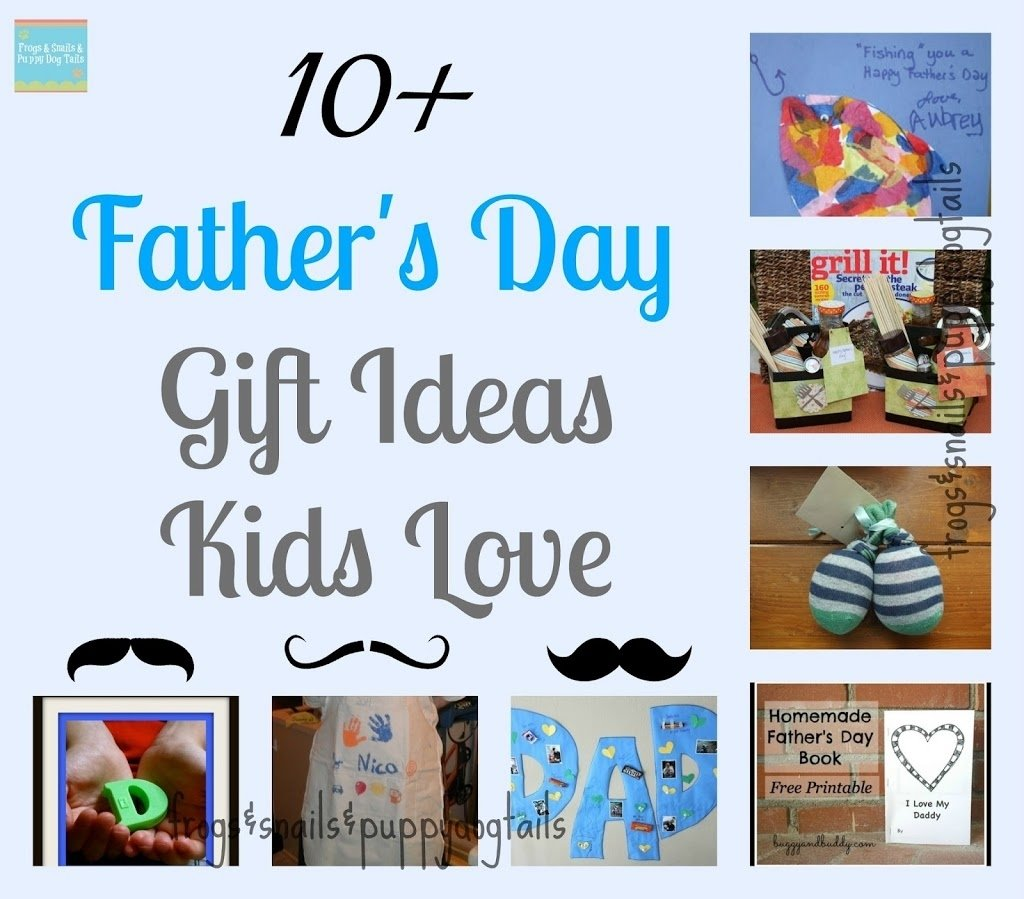 10 father's day gifts ideas kids love {special edition 10 things