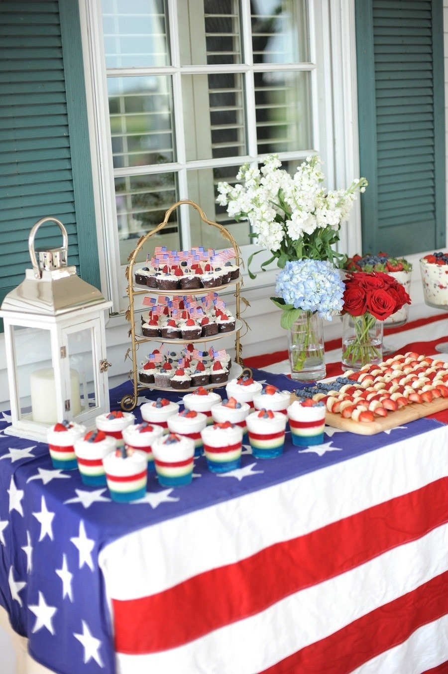 10 Beautiful Ideas For The 4Th Of July 10 fourth of july decoration ideas tinyme blog 1 2021