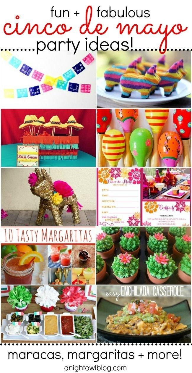 10 Fantastic Ideas For Cinco De Mayo Party 10 fun cinco de mayo party ideas cinco de mayo party cinco de