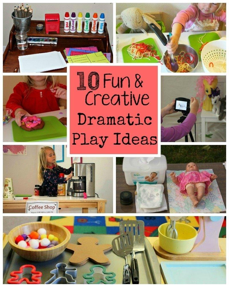 10 fun & creative dramatic play ideas for preschoolers - where