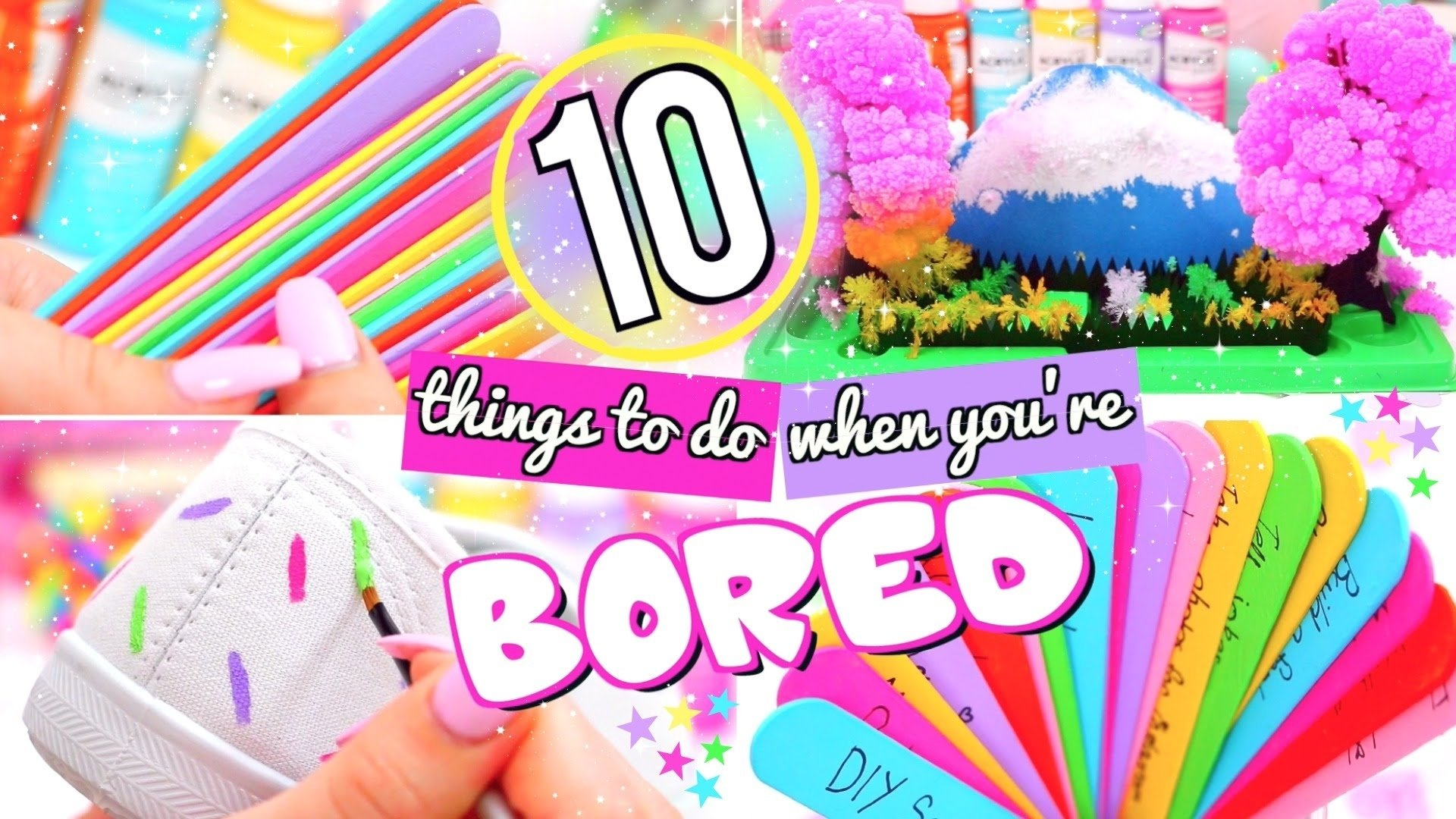 10 Elegant Ideas To Do When Bored 10 fun things to do when youre bored what to do when bored youtube 1 2020