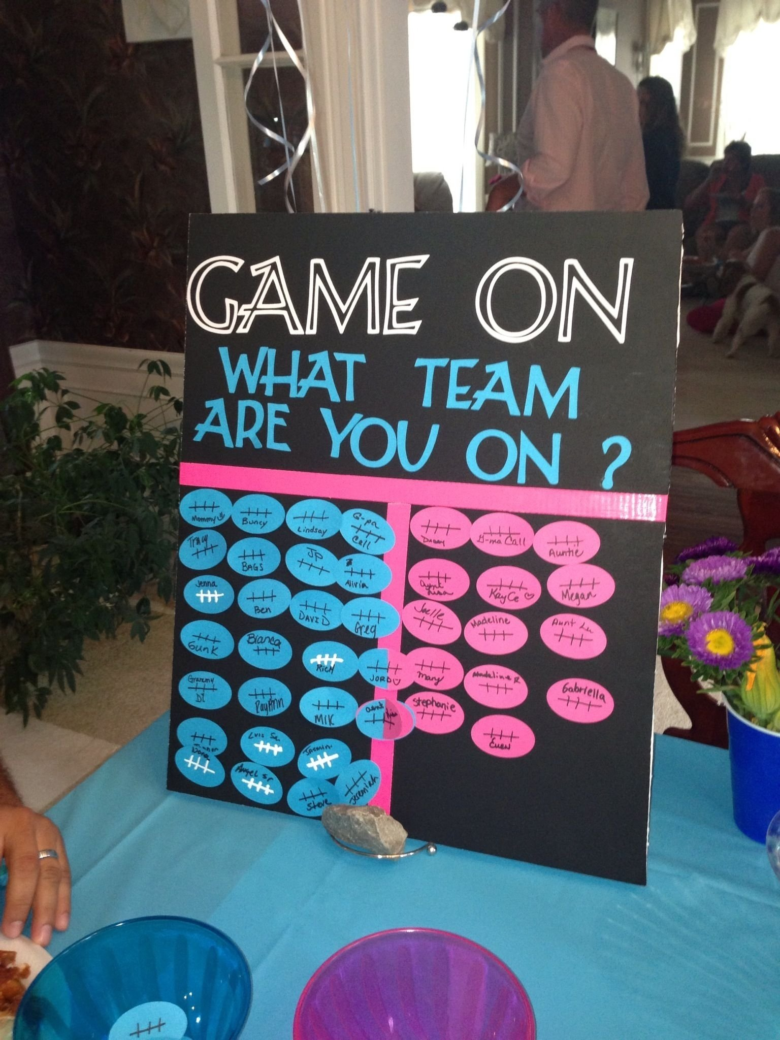 10 gender reveal party food ideas for your family | dirt biking