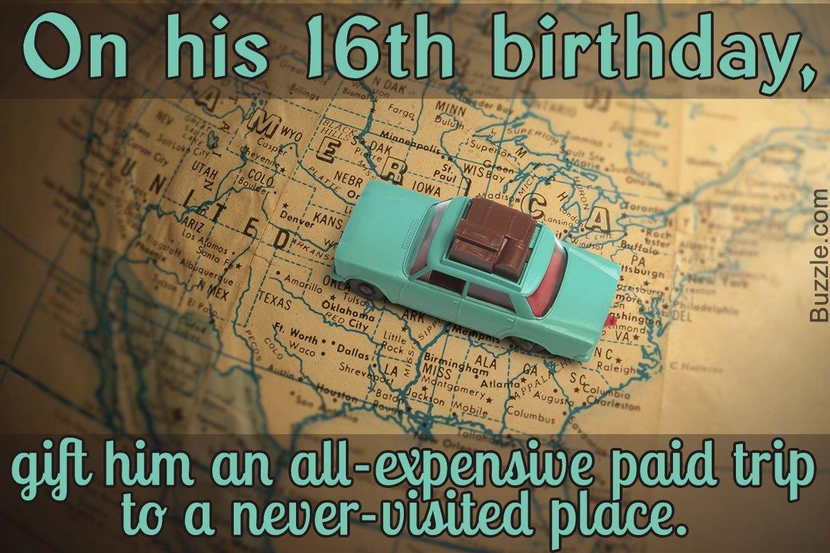 10 Amazing 16 Year Old Boy Birthday Ideas 10 gift ideas for a 16 year old boy 1 2021
