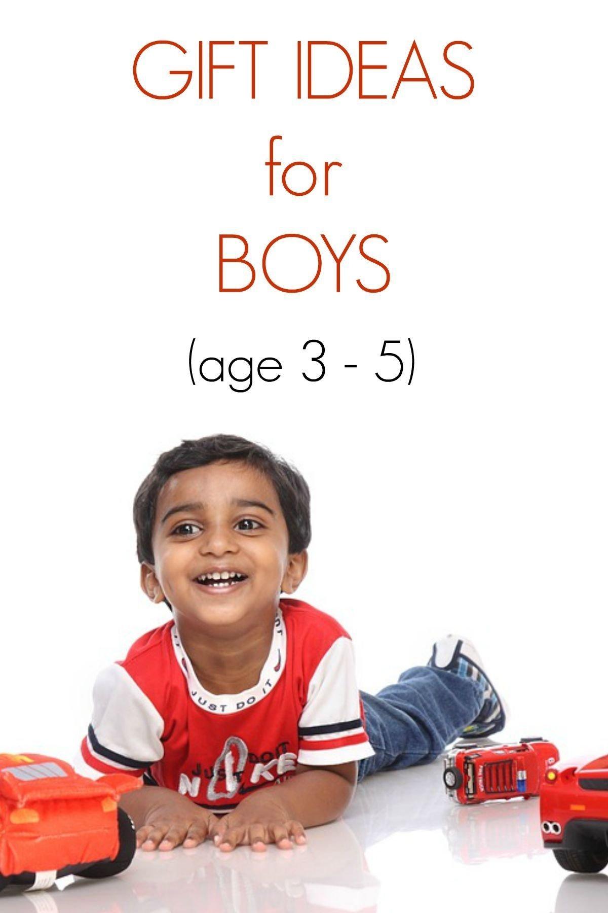 10 Cute Birthday Gift Ideas For 5 Year Old Boy Four