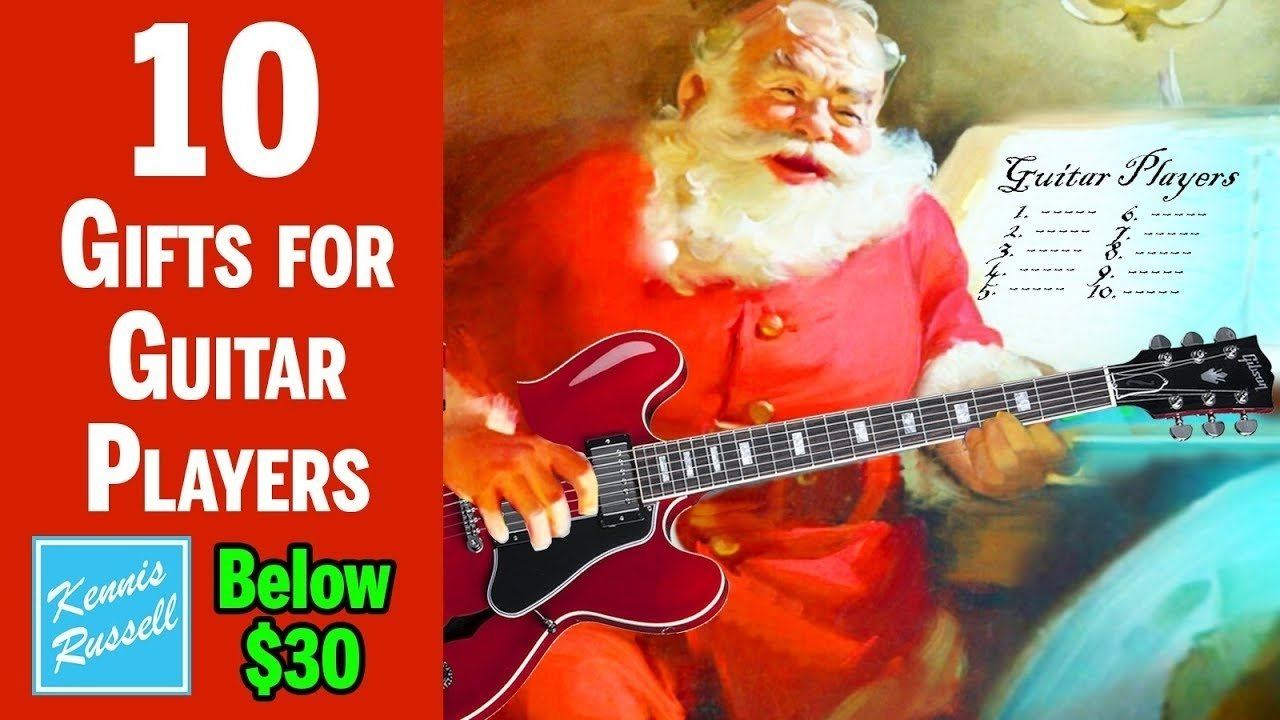 10 Stunning Gift Ideas For Guitar Players 10 gifts below 30 every guitar player will want for christmas youtube 2020