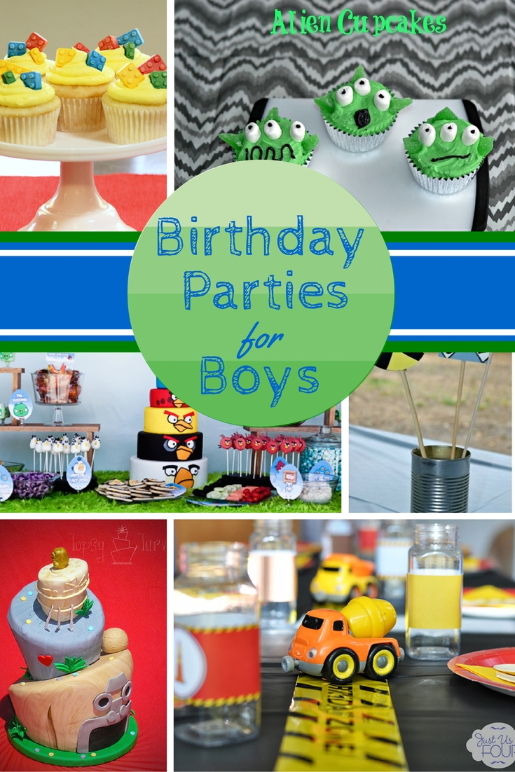 10 great birthday party themes for boys | birthday party themes
