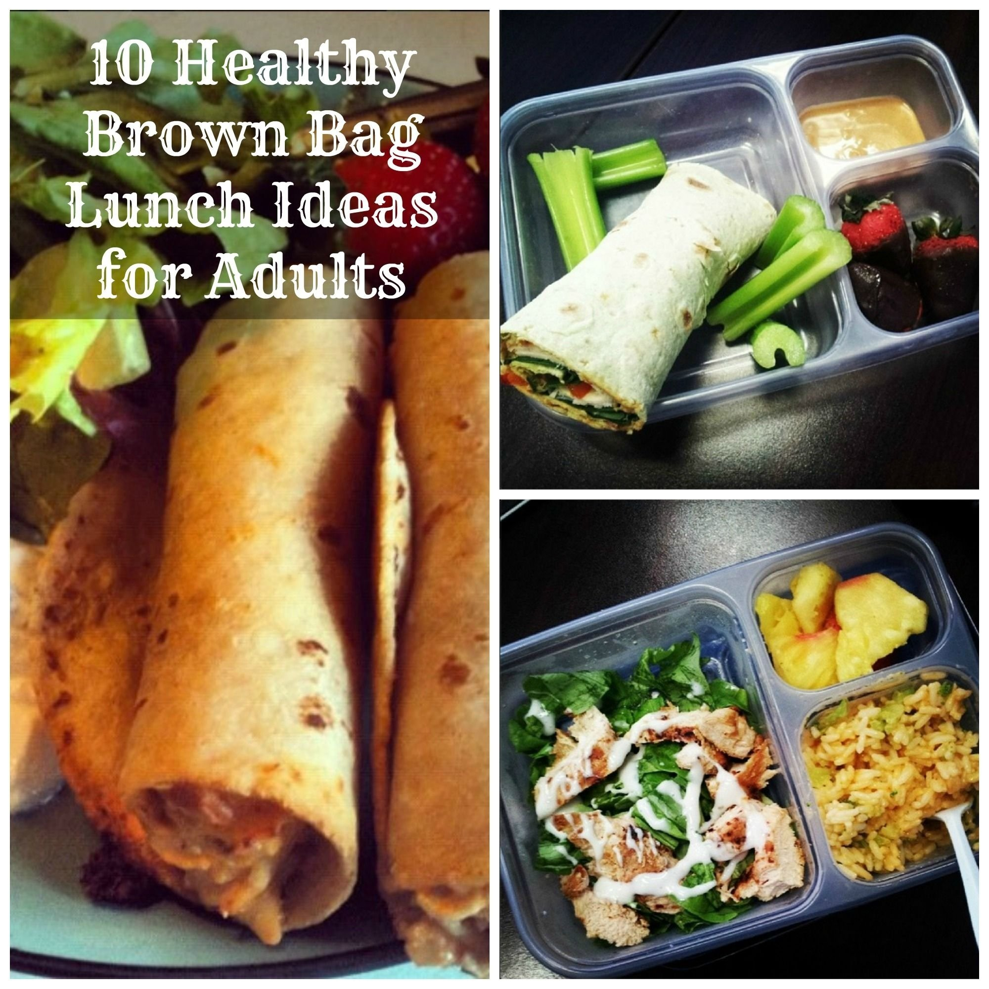 10 healthy brown bag lunch ideas for adults | the group board on