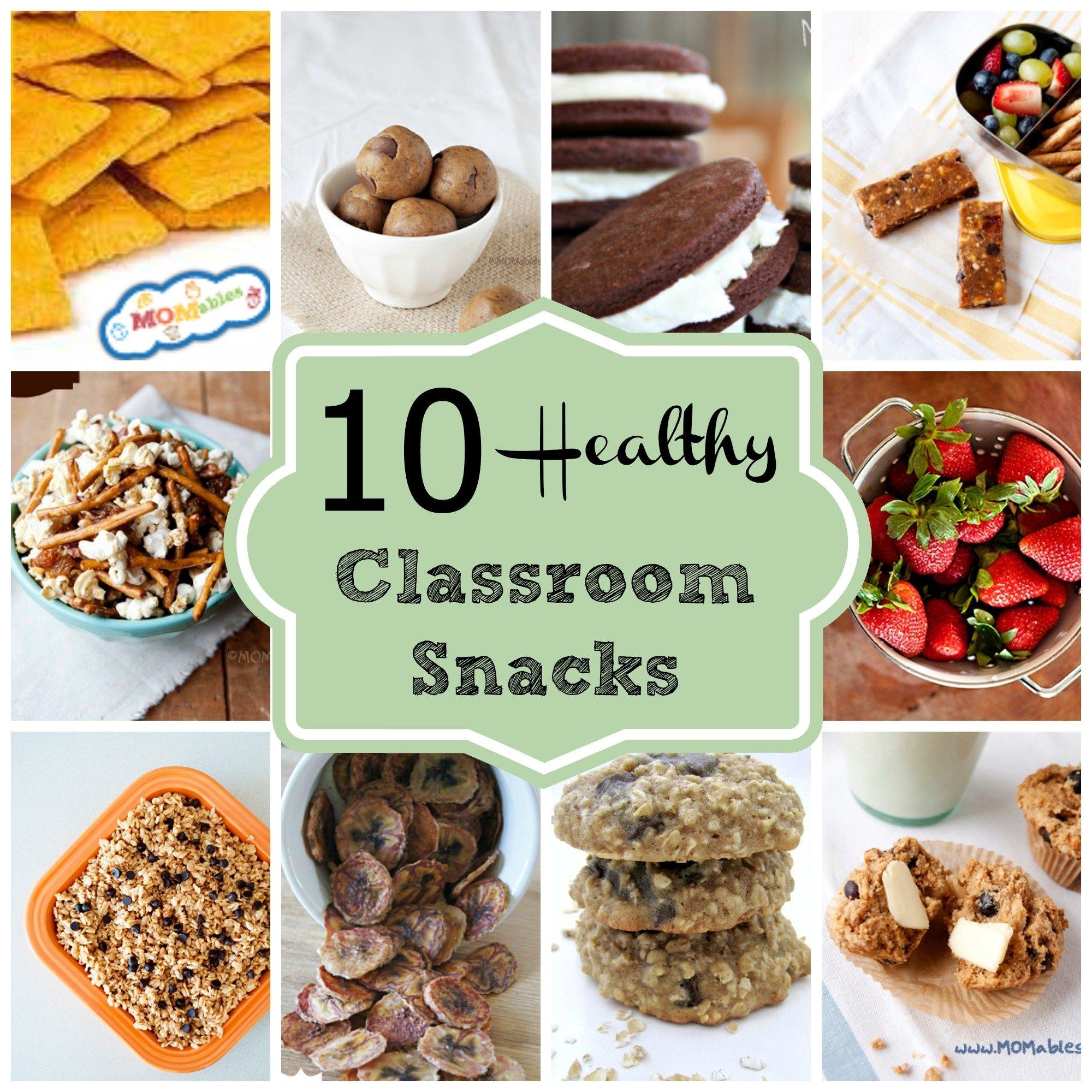 10 Attractive Snack Ideas For Kindergarten Class 10 healthy classroom snacks 2 2021
