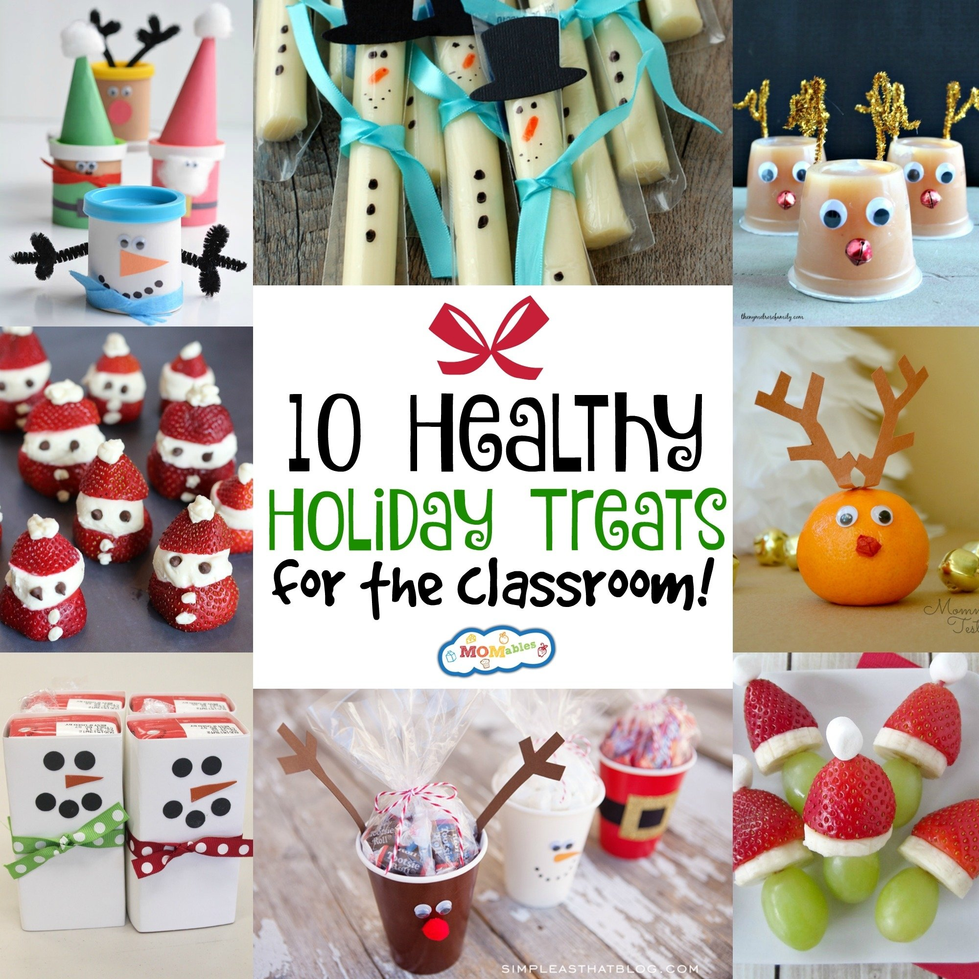 10 Best Christmas Snack Ideas For Kids 10 healthy holiday treats for the classroom momables 2020