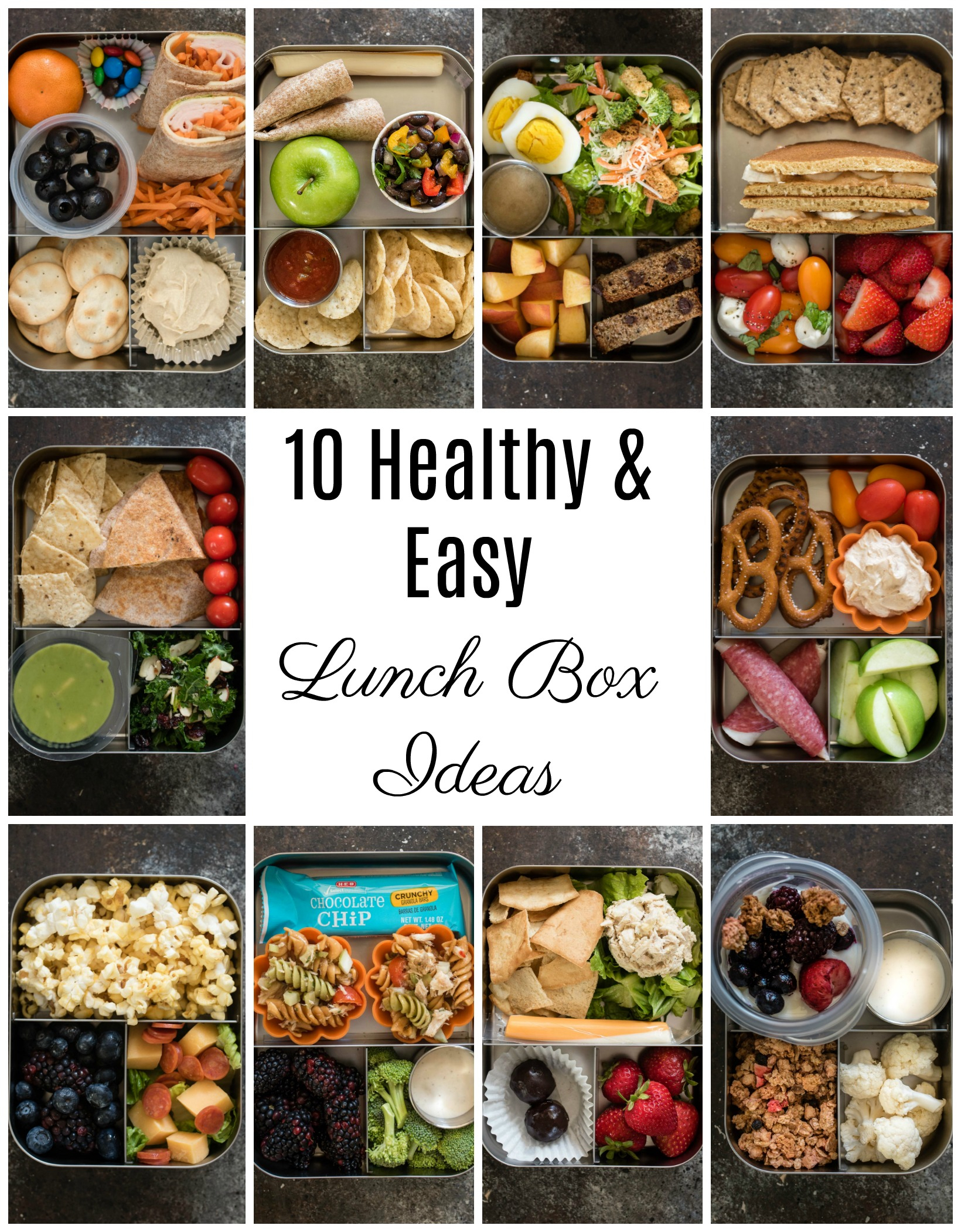10 healthy lunch box ideas